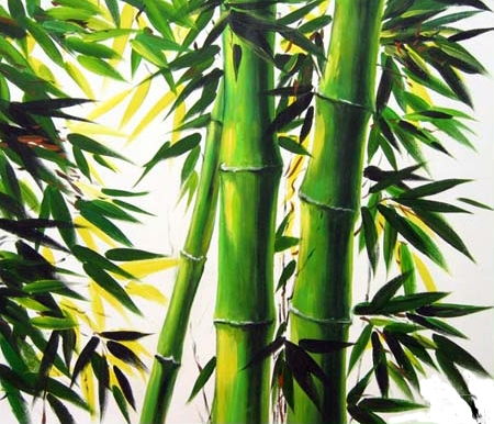 Peinture l 39 huile bambou peintures bambous - Vente de bambou en ligne ...