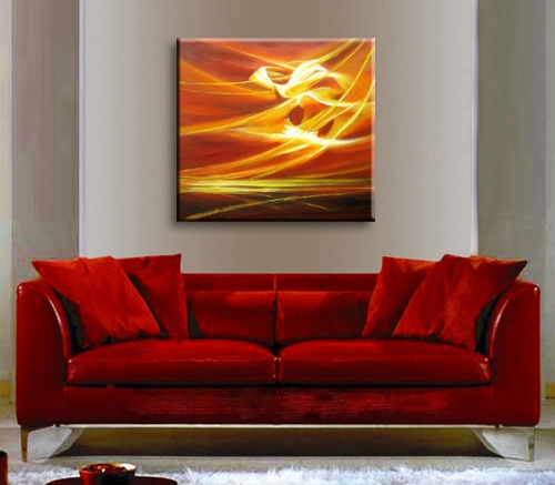 Peinture l 39 huile abstraite peintures abstraites - Peinture abstraite huile ...
