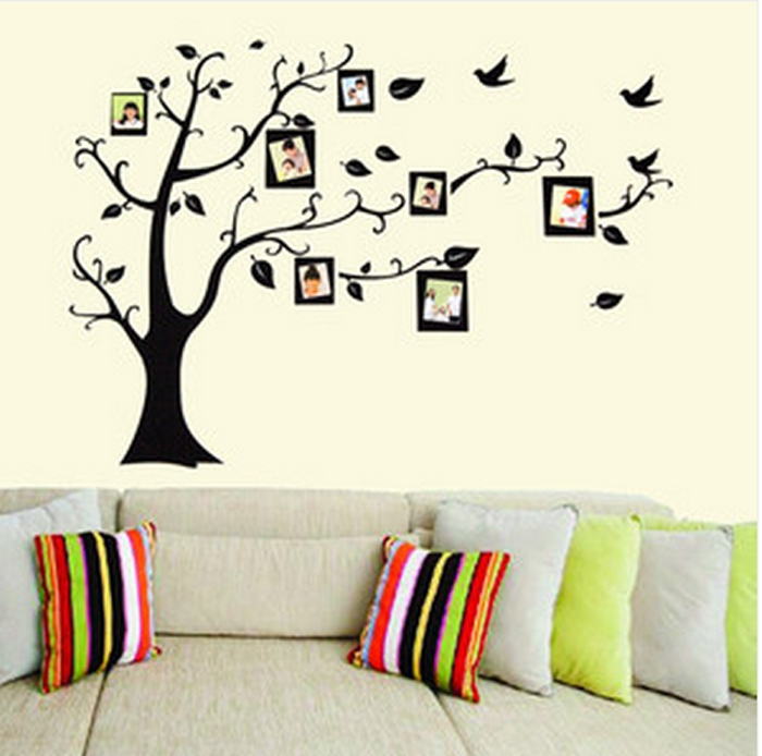 stickers arbre photo. Black Bedroom Furniture Sets. Home Design Ideas