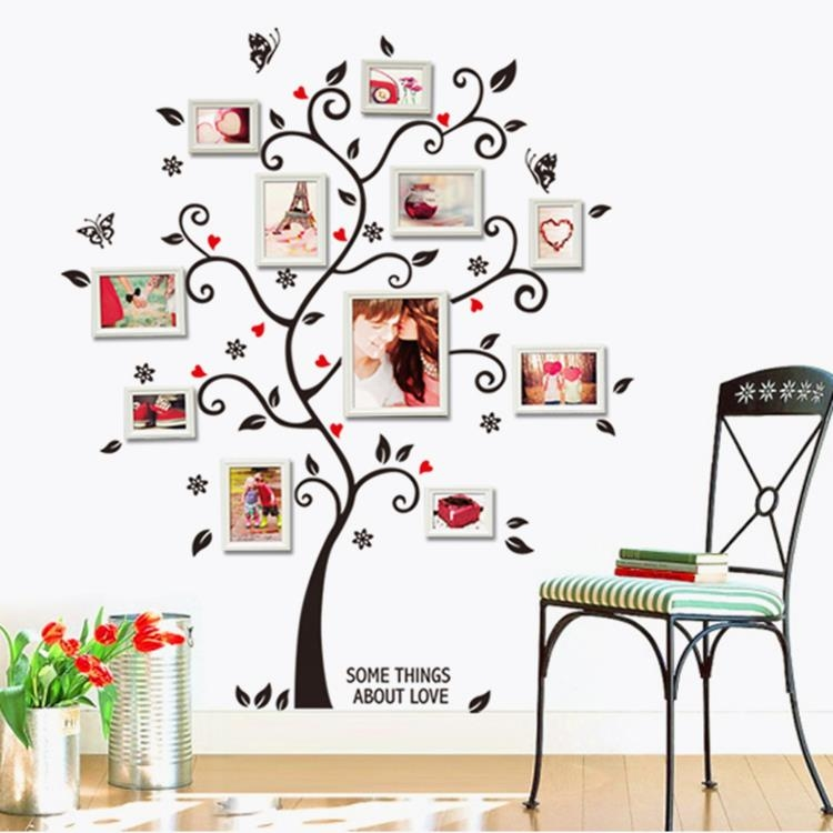sticker arbre photos papillons stickers muraux. Black Bedroom Furniture Sets. Home Design Ideas