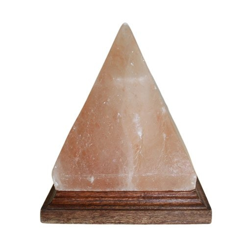 Lampe En Cristal De Sel De L Himalaya Pyramide Lampes De Sel
