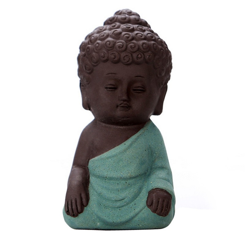 trendy statue bouddha tha de la mditation verte with. Black Bedroom Furniture Sets. Home Design Ideas